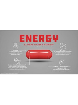Travel size Focus capsules for memory and clarity boost - Genius+ Energy