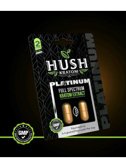 Hush Platinum Extract Kratom Capsules