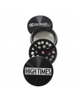 Cali Crusher High Times Limited Edition 4 Piece Grinder black