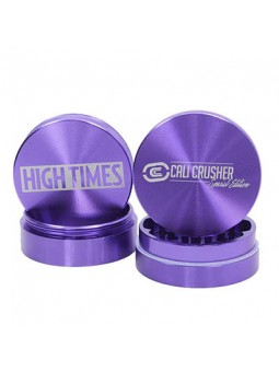Cali Crusher High Times Limited Edition 4 Piece Grinder purple