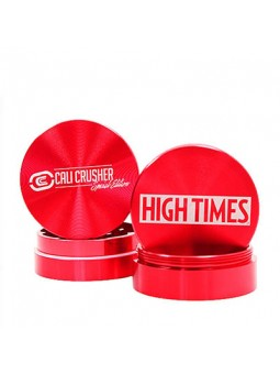 Cali Crusher High Times Limited Edition 4 Piece Grinder red